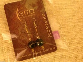Shade choice LARGE acai seed earrings by Terra help sustain amazon rainforest image 3