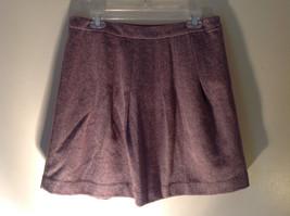 Size 8 Brown Skirt by GAP Side Zipper 100 Percent Wool image 3