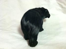 North American Black Bear Animal Figurine - recycled rabbit fur image 5