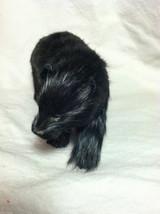 North American Black Bear Animal Figurine - recycled rabbit fur image 8