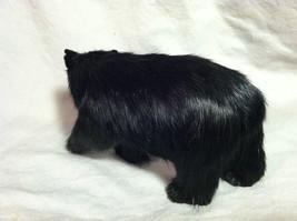 North American Black Bear Animal Figurine - recycled rabbit fur image 6