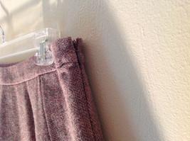 Size 8 Brown Skirt by GAP Side Zipper 100 Percent Wool image 6