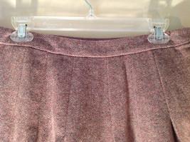 Size 8 Brown Skirt by GAP Side Zipper 100 Percent Wool image 5