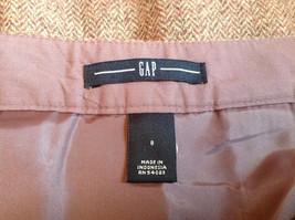 Size 8 Brown Skirt by GAP Side Zipper 100 Percent Wool image 7