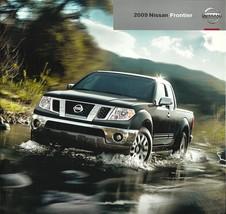 2009 Nissan FRONTIER sales brochure catalog US 09 PRO-4X SE LE - $7.00
