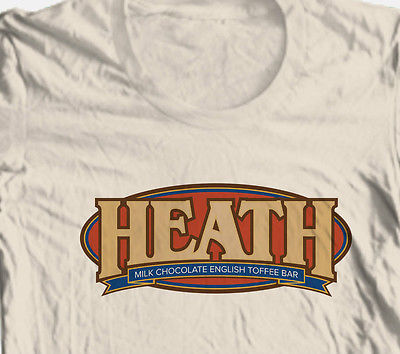 Heath Bar T-shirt retro vintage 1980's candy soda 100% cotton graphic tee
