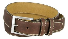 Classic Genuine Leather Office Career Casual Dress Belt (Brown, 38) - $19.30