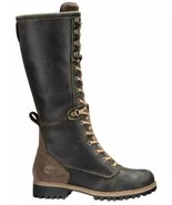 TIMBERLAND WOMEN'S DARK BROWN WHEELWRIGHT TALL LACE-UP BOOT SIZE:7M - $186.07