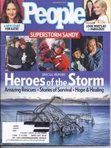 Heroes of the Superstorm Sandy @ People Magazine NOV 2012 - $4.95