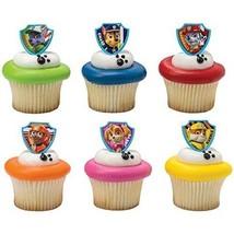 DecoPac Paw Patrol Ruff Ruff Rescue Cupcake Rings, Pack of 24 Assorted R... - $8.86