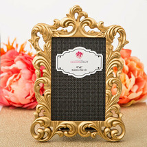 Baroque Gold Metallic Picture Frame Large Party Table Number Holder - $17.82