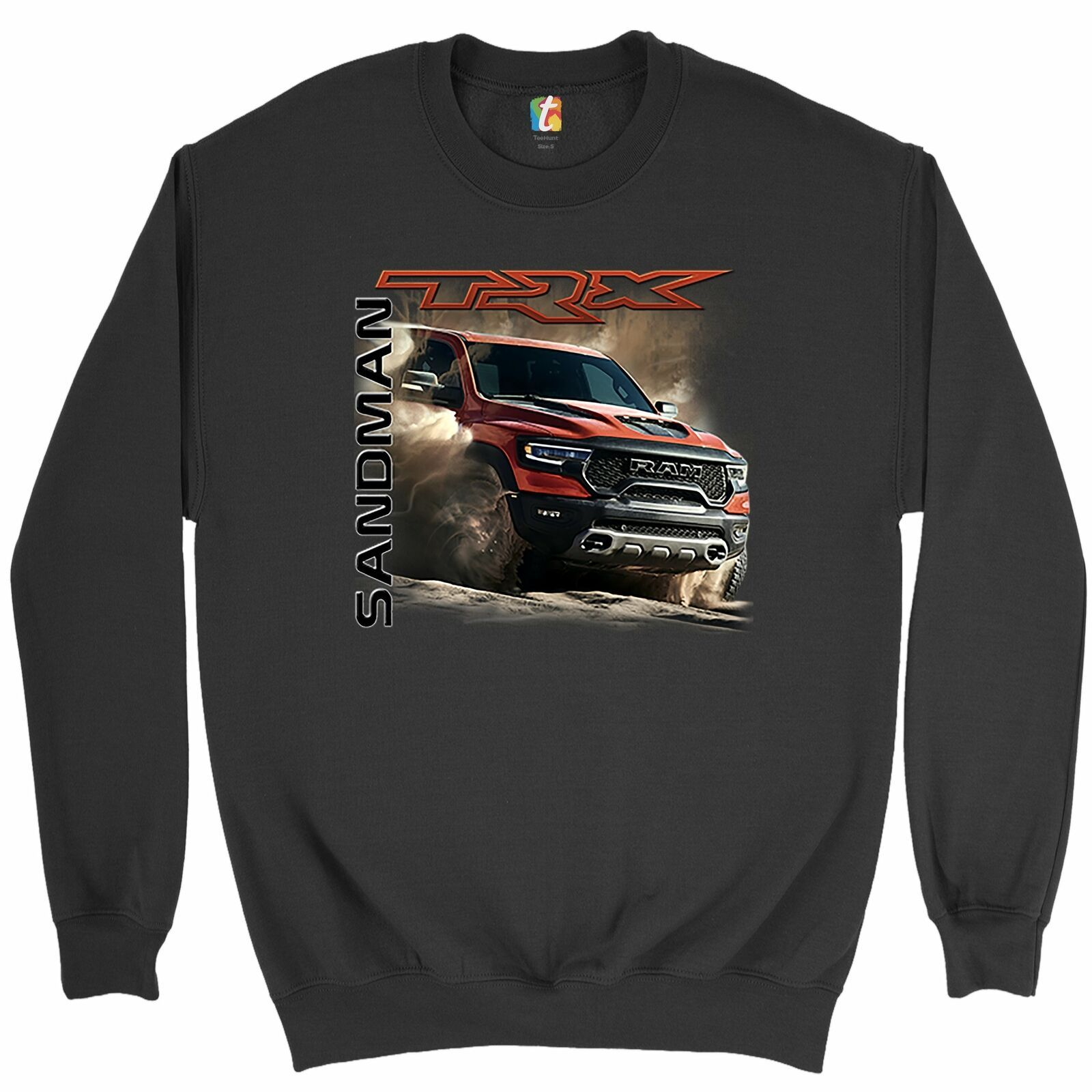 Primary image for RAM 1500 TRX Sandman Sweatshirt Off-Road V8 Pickup Truck Licensed Crewneck