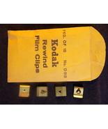 KODAK REWIND FILM CLIPS No. D 510 Part No. 166121  Set of 4 in small env... - $7.91