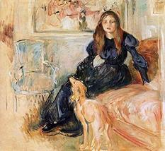 The Museum Outlet - Julie Manet and Her Greyhound, Laertes - 1893 - Canv... - $79.19