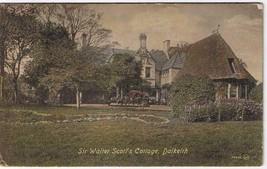Postcard Sir Walter Scott's Cottage Dalkeith Scotland United Kingdom - $2.84