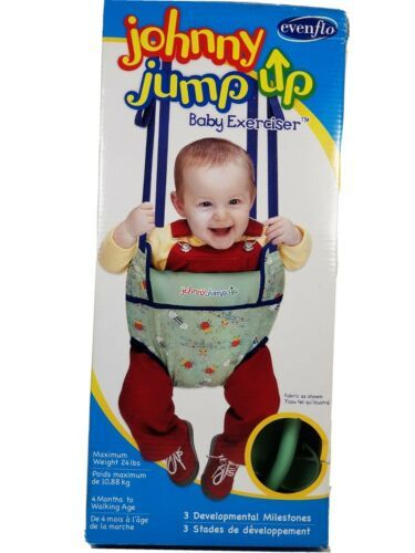 Primary image for Johnny Jump Up by Evenflo Baby Exerciser New Open-Box Never Used! Complete!