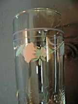"Lenox Poppies On Blue 6 1/4"" Tall Highball Glass - $4.95"