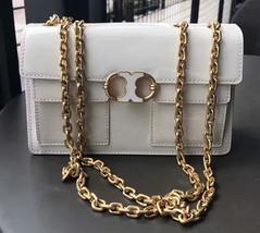Tory Burch Gemini Link Patent Medium Chain Shoulder Bag - $320.00