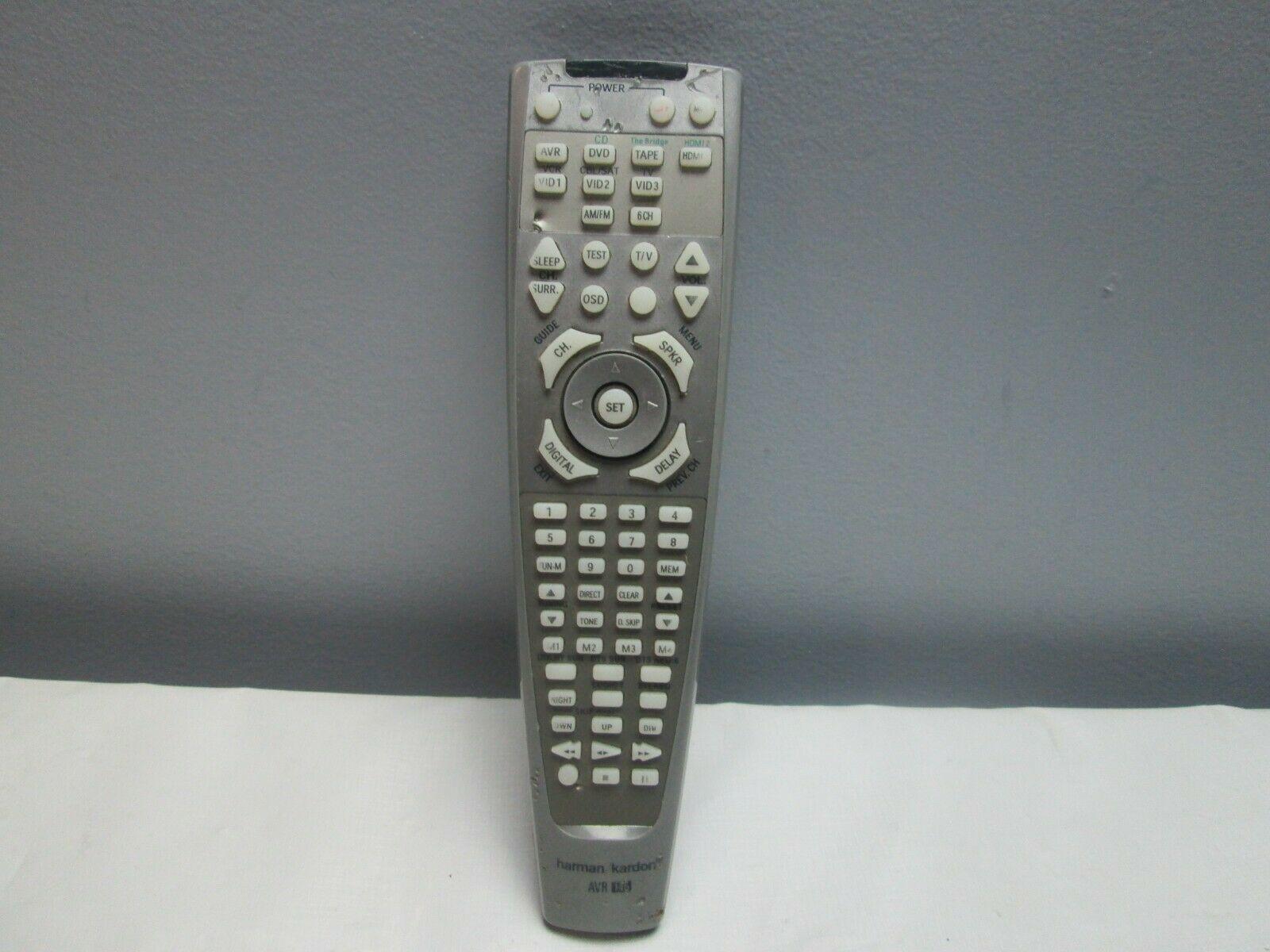 GENUINE OEM Harman Kardon AVR 146 AVR146 Receiver Remote Control