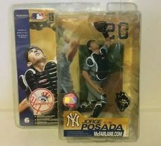 2003 McFarlane's Series 6 Jorge Posada New York Yankees Figure Unopened NIB - $39.59