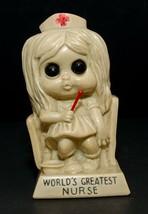 Vintage R & W Berries Figure Statue World's Greatest Nurse Award 1973 - $13.86
