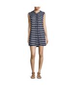 Porto Cruz Stripe Knit Swimsuit Zip Hoodie Cover-Up Dress Size S, L Msrp... - $21.99