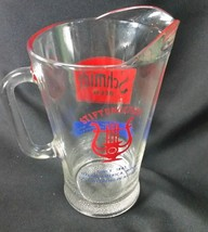 Stiftungsfest Schmidt Beer Pitcher Young America Norwood MN festival adv... - $45.00