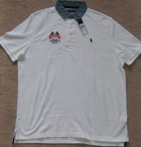 New Mens Ralph Lauren POLO Flag Patriotic Short Sleeve Polo Shirt Size XL $98.50 - $50.00