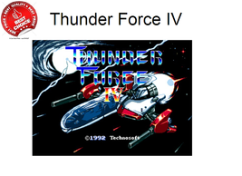 Thunder Force IV 16 bit MD Game Card For Sega Mega Drive For Genesis Kid... - $7.91