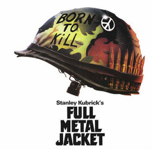 Full Metal Jacket T-shirt retro 1980s Vietnam movie 100% cotton black tee image 2