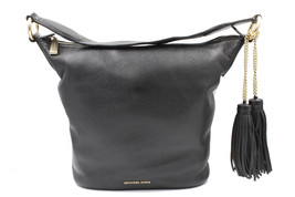 Michael Kors Black Leather Shoulder Womens Bag 30940 - $189.05