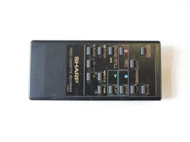 Sharp RRMCG0336GESA Tv Vcr Remote VCA500, VCA500U, XA200, XA205 B24 - $9.95