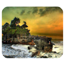 Mouse Pad Tanah Lot Bali Indonesian Temple Beautiful Nature Sunset Ocean... - $171,76 MXN