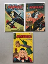 Lot of 3 Mandrake the Magician (1966 King) #2 3 6 FN Fine - $19.80