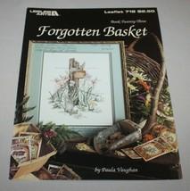 Forgotten Basket Leisure Arts 718 Cross Stitch Pattern Book 23 Paula Vau... - $9.41