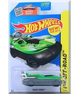 Hot Wheels - Hover Storm: HW Off-Road 2015 - Jungle Rally #103/250 *Green* - $2.50