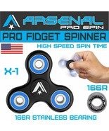 No.1 Anti-Anxiety 360 Ultra High Speed PRO Tri Fidget Spinner Helps you ... - $8.86