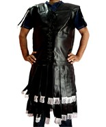 SAP Medieval Roman Greek Leather Look Sabramail Larp Armoury Halloween C... - $85.00