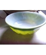 Anchor Hocking Fire King Green Diamond Kimberly Bowl - $13.00