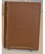 Intermediate Textbook of Magnetism & Electricity by Robert W. Hutchinson... - $9.95