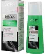 VICHY DERCOS ANTIDANDRUFF SHAMPOO FOR SENSITIVE DRY ITCHY SCALP 200ml - $22.99