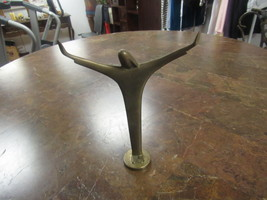 "SOLID BRONZE RELIGIOUS JESUS STATUE  7"" HIGH 5"" WIDE  - $30.00"