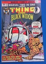 MARVEL TWO-IN-ONE #10 (1975) Marvel Comics The Thing & Black Widow FINE- - $9.89