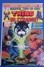 MARVEL TWO-IN-ONE #6 (1974) Marvel Comics The Thing & Dr. Strange VERY FINE - $9.89