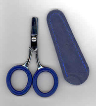 "Travel Scissors TSA approved 3.5"" embroidery scissors sheath Heritage Cu... - $31.05"