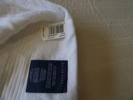 $25.00 Ralph Lauren Bowery Hand Towel, Nantucket White - $8.56