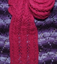 Handmade Knit Scarf - $27.00