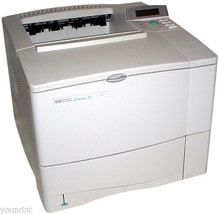 HP LaserJet 4000 Monochrome Workgroup Laser Pri... - $113.28
