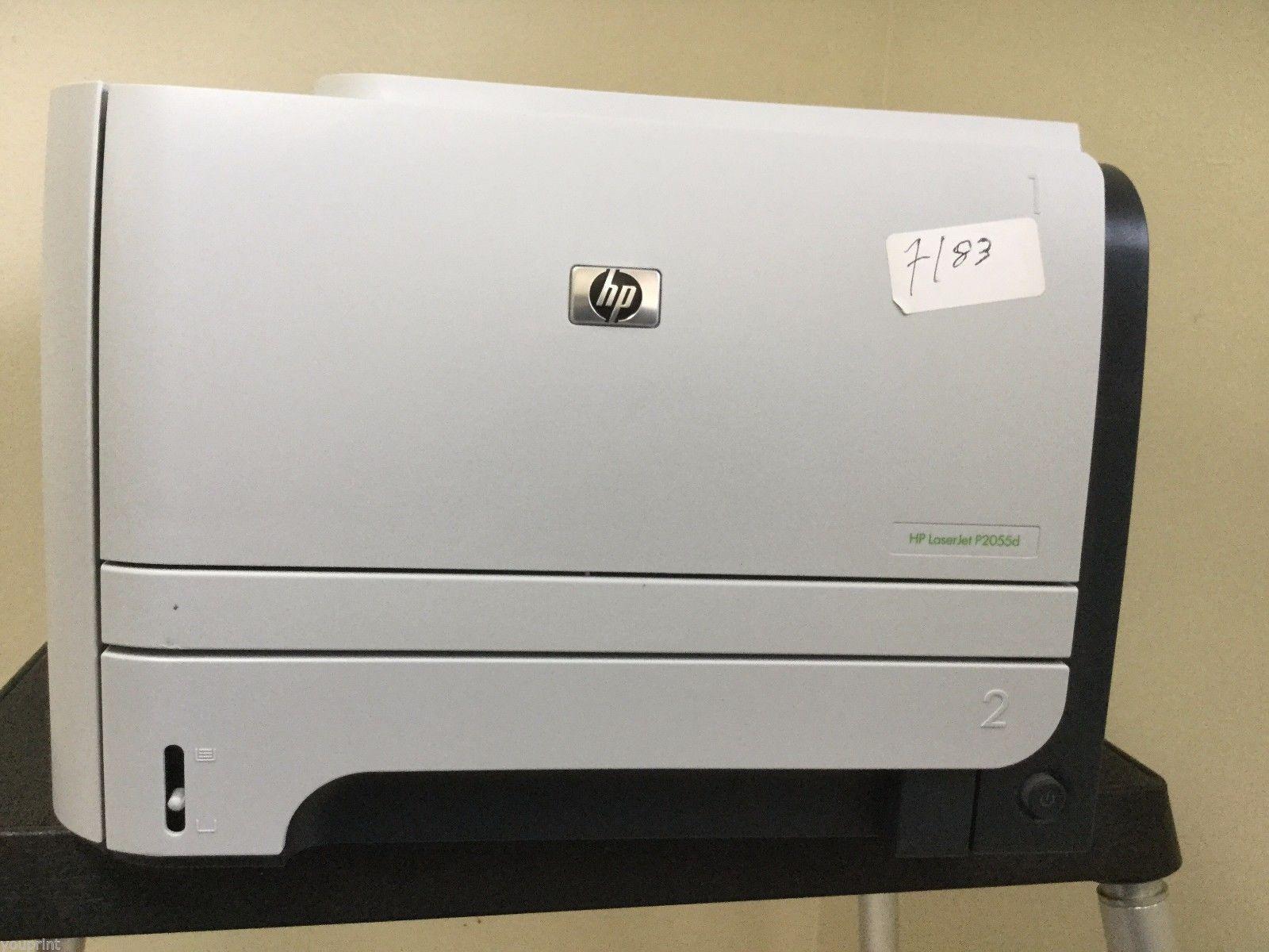 hp laserjet p2055d monochrome workgroup laser printer. Black Bedroom Furniture Sets. Home Design Ideas