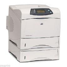 HP LaserJet 4200DTN Workgroup Laser Printer Ext... - $224.95